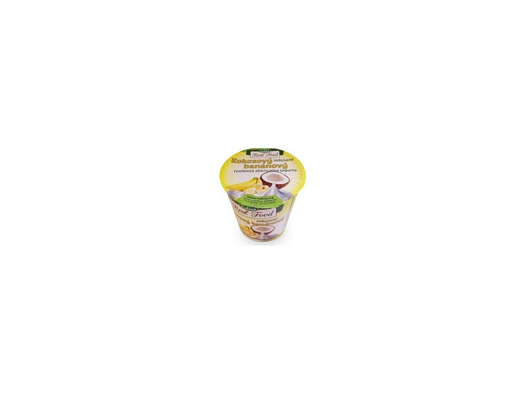 Zakysaný banánový jogurt 125g