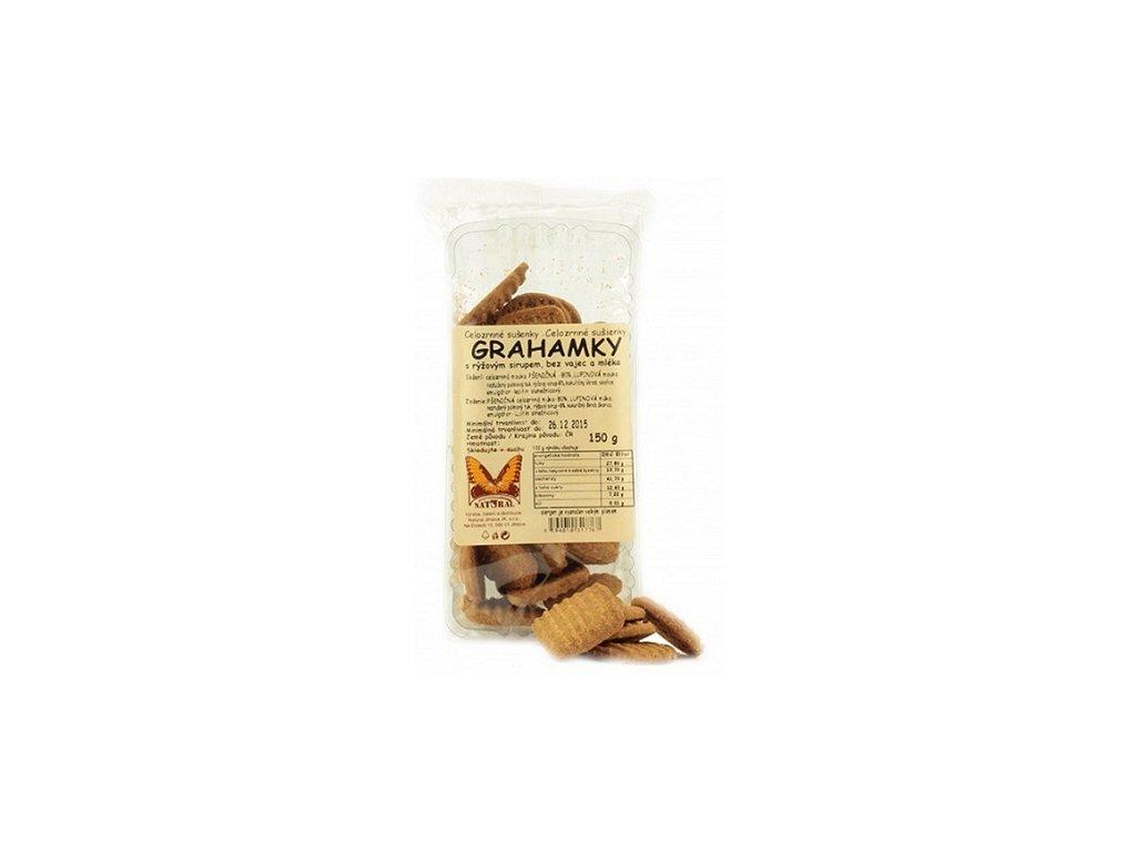 Sušenky Grahamky 150g Natural