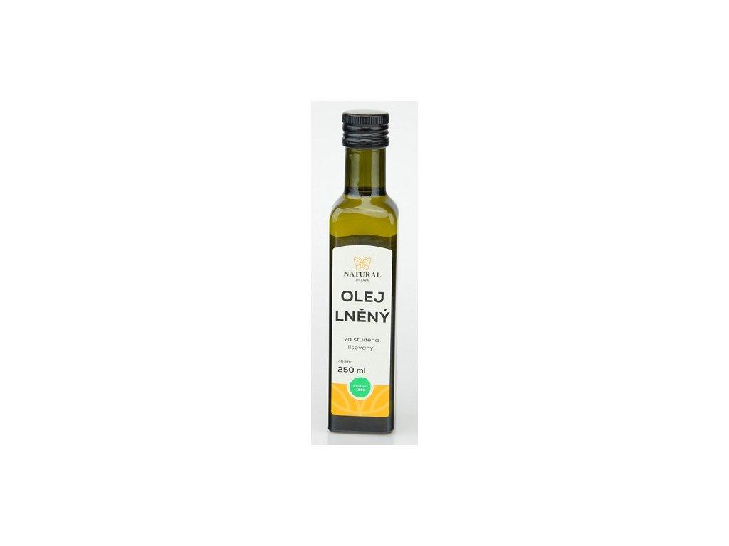 Olej lněný 250ml Natural