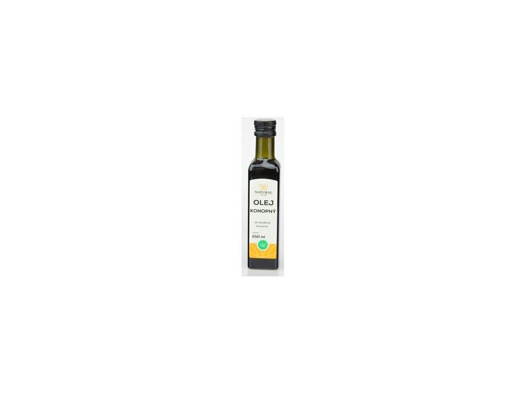 Olej konopný 250ml Natural