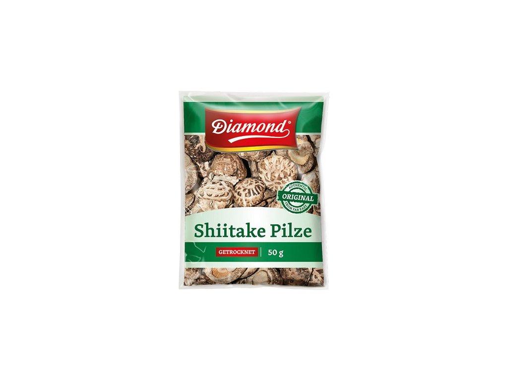 Houby Shiitake 50g Diamona
