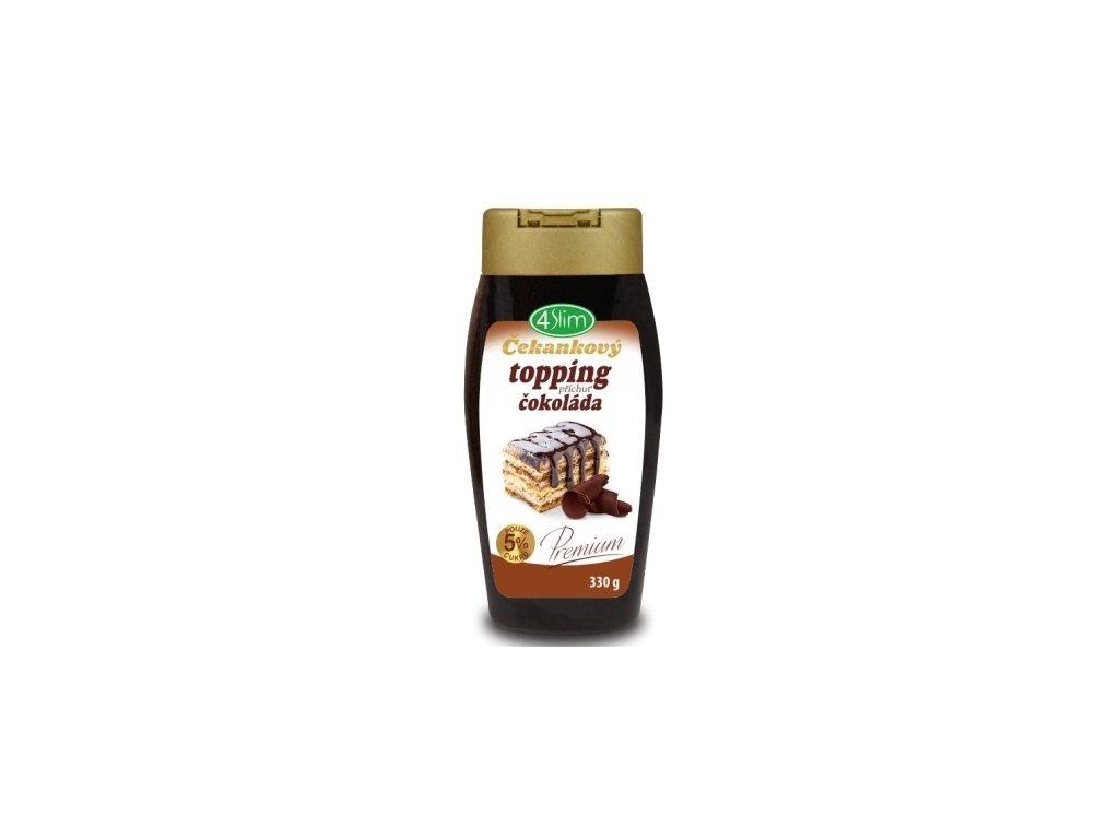 Čekankový topping čokoláda 330g