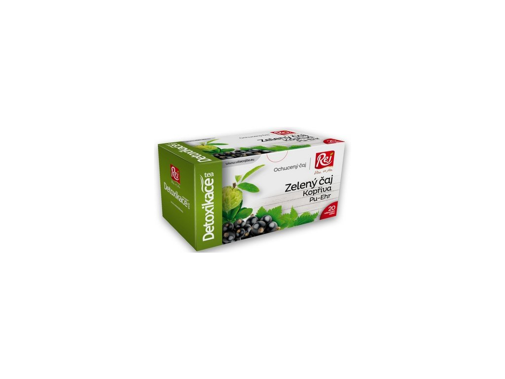 REJ Detoxikační čaj 40g fyton