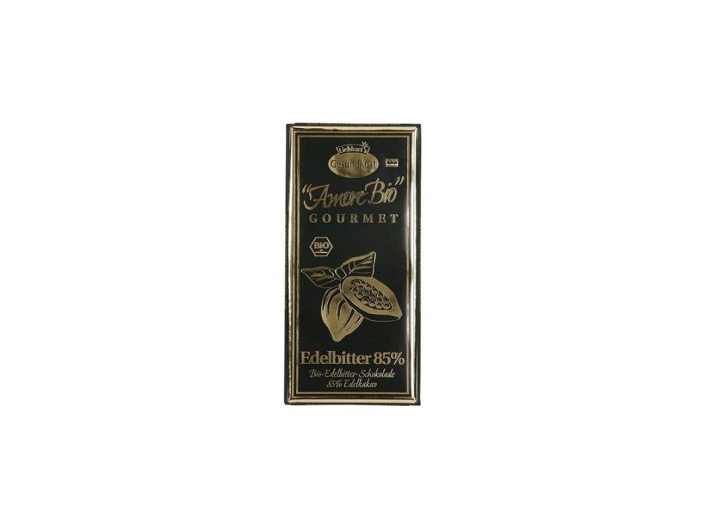 Čokoláda hořká 85% BIO 100g Liebharts