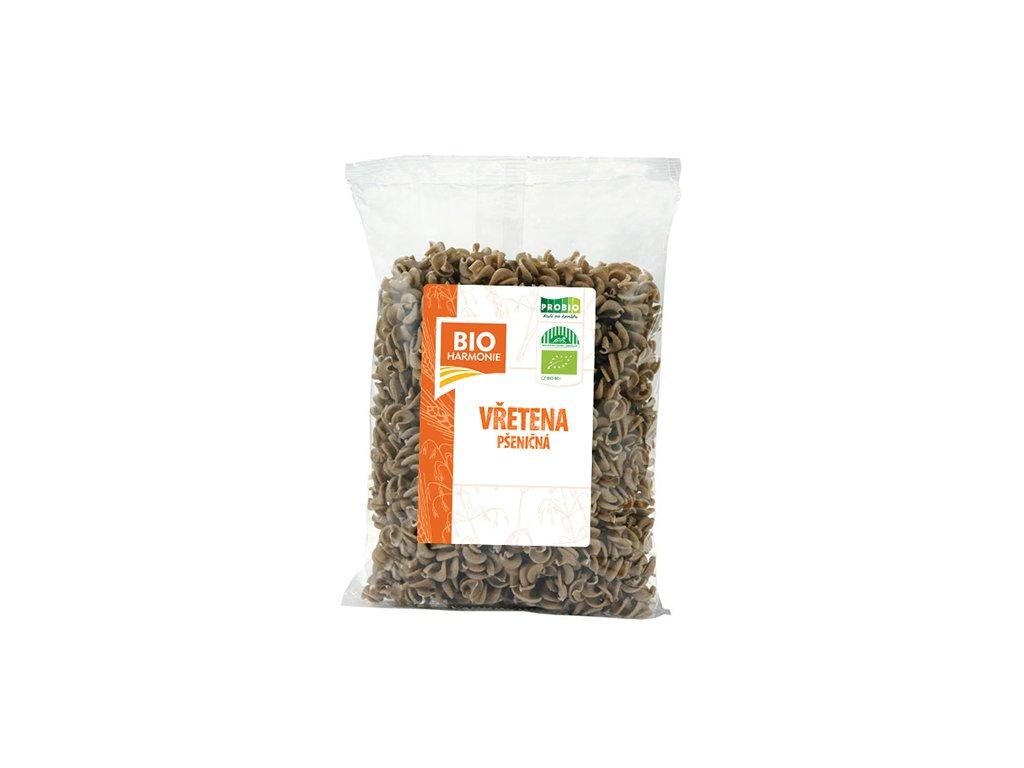 Vřetena  pšen. celozrn. 400g BIOharmo