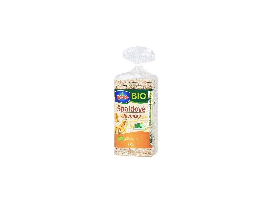 Chlebíčky špaldové 140g BIO Racio