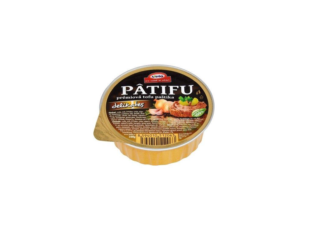 Paštika Patifu delikates 100g