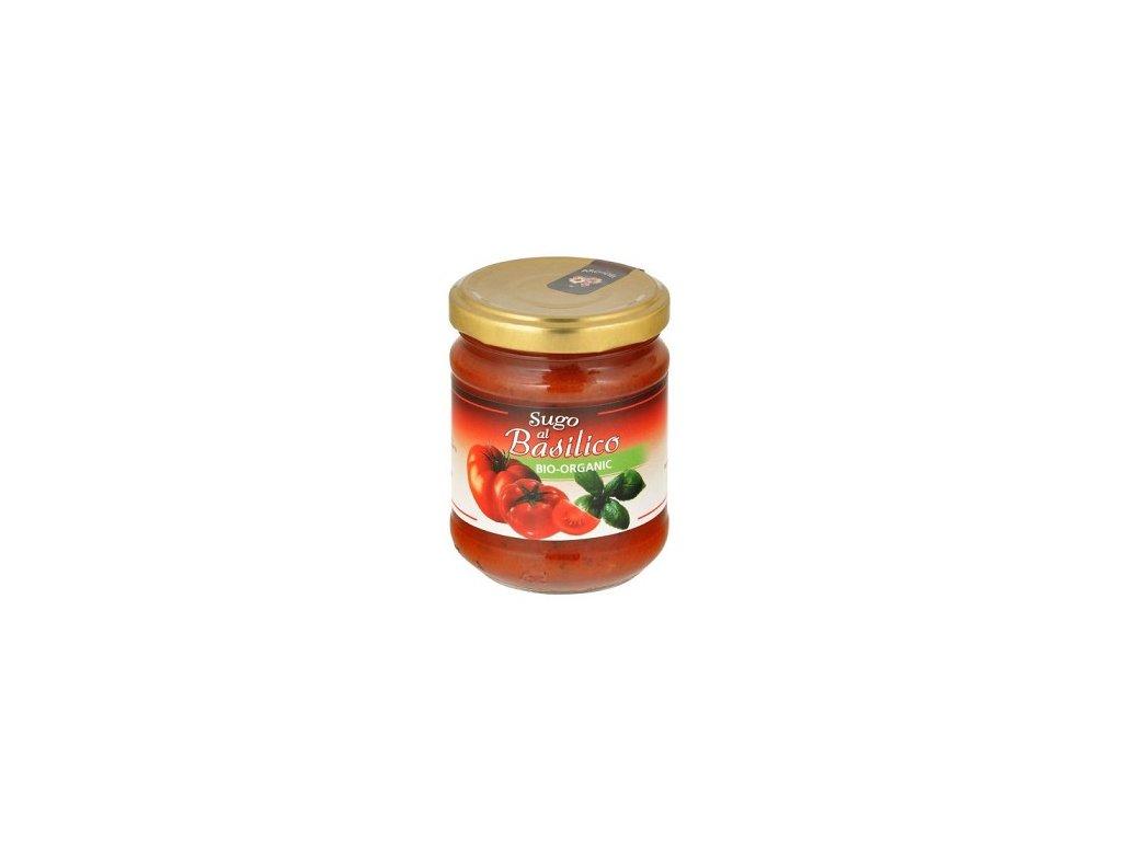Omáčka rajčatová s bazalkou BIO 190g