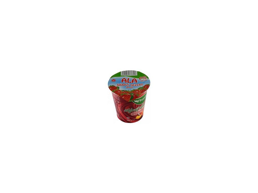 Sójový dezert jahoda ALA 0% laktózy 135g