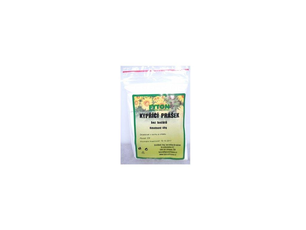 Kypřící prášek bez fosfátů 40g Fyton