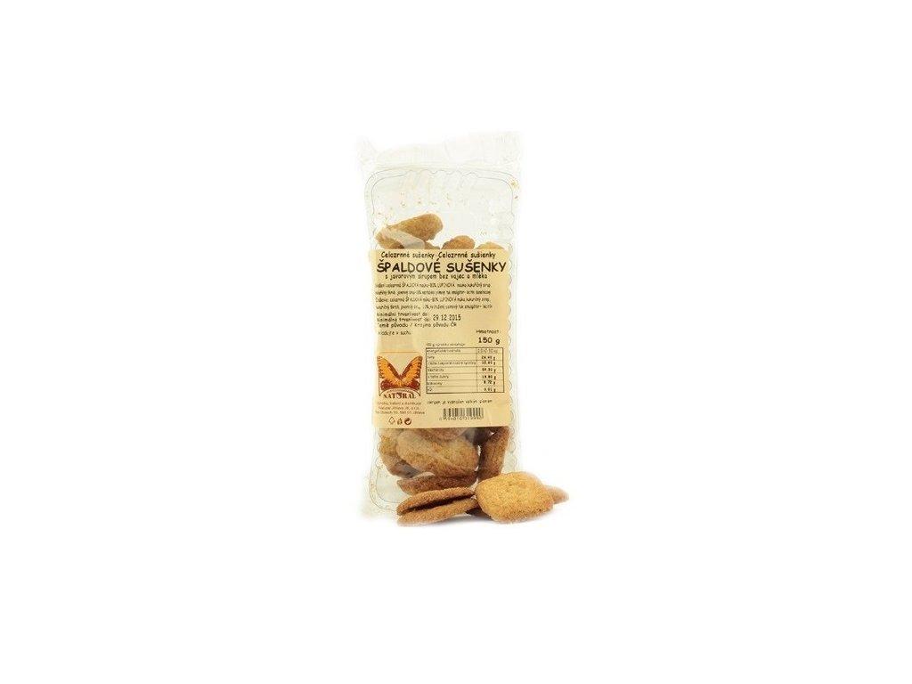 Sušenky špaldové s javorovým sirupem 150g Natural