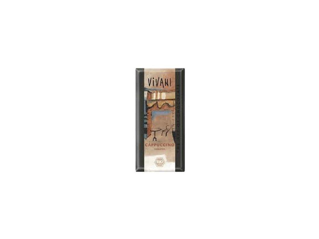 Čokoláda Vivani cappucino BIO 100g