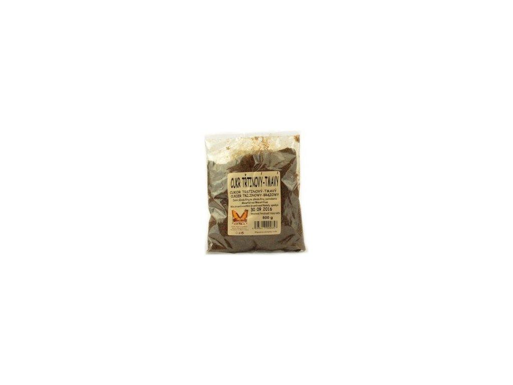 Cukr třtinový tmavý-jemný 500g Natural