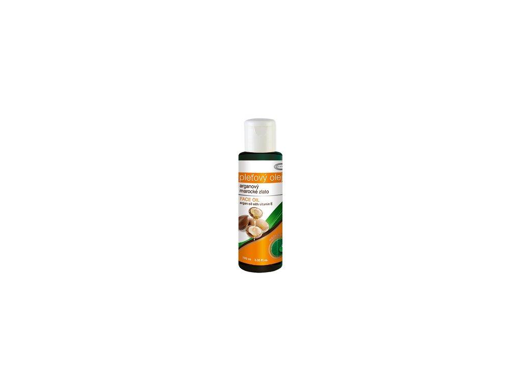 Top - Pleťový olej arganový 100% 100ml Topvet