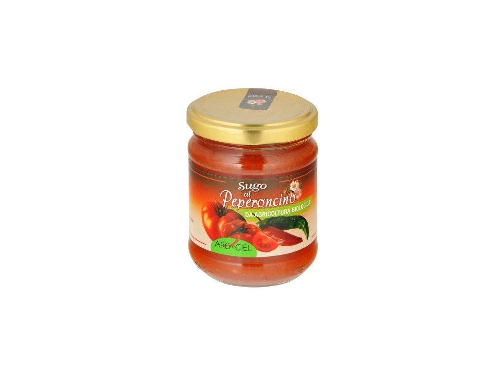 Omáčka rajčatová s chilli BIO 190g CL