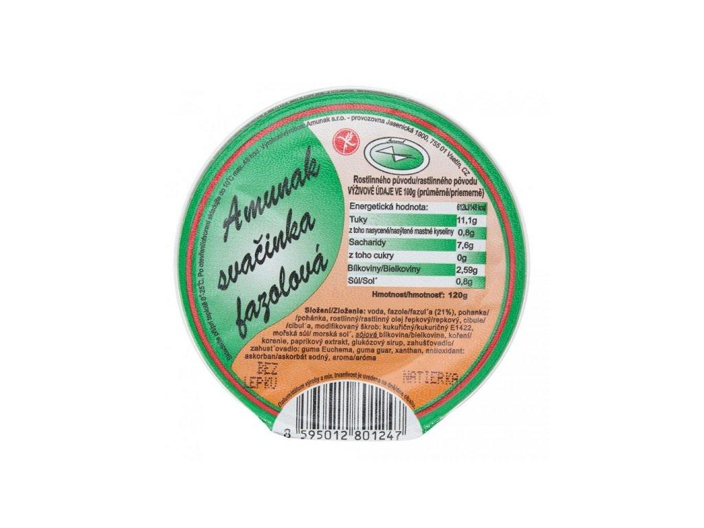 Svačinka fazolová velká 120g Amunak