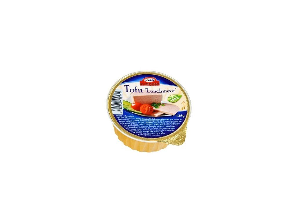 Tofu Lunchmeat 125g Veto Eco CL