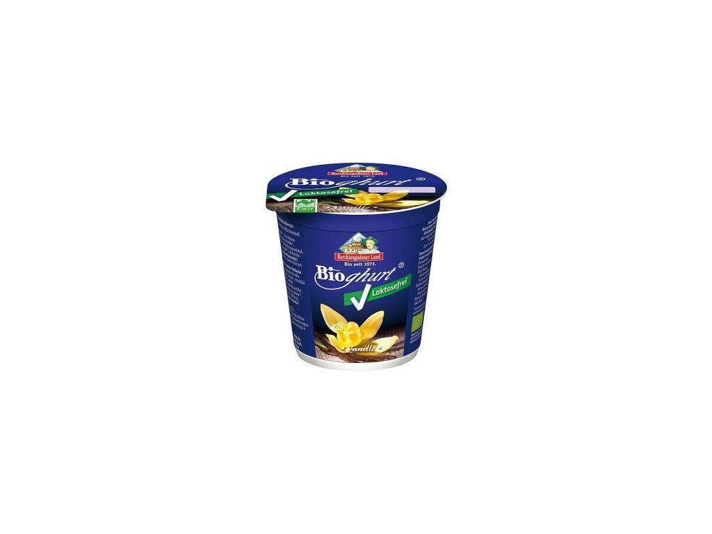 Jogurt bez laktózy vanilkový BIO 150g