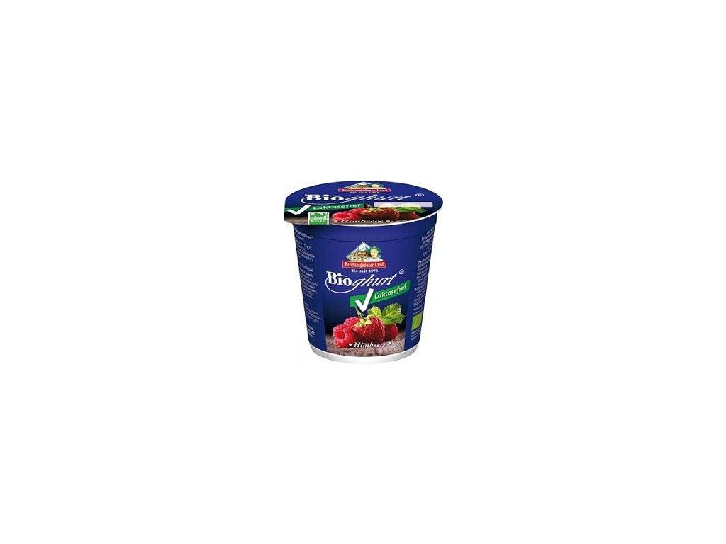 Jogurt bez laktózy malinový BIO 150g