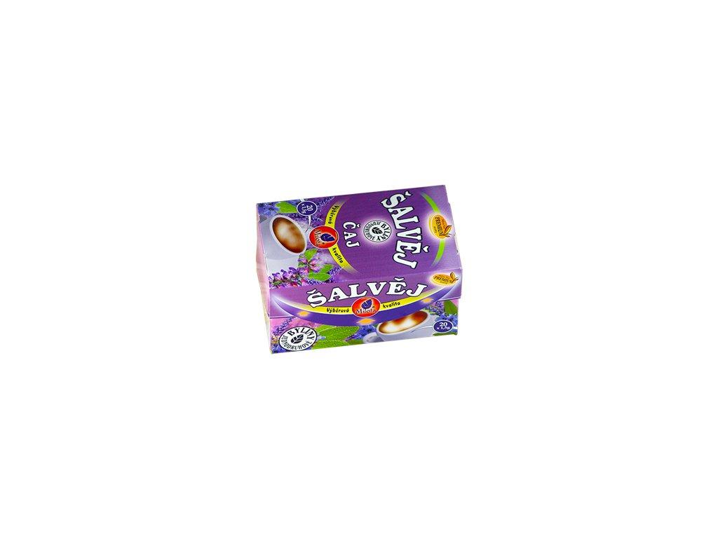 Mil - Šalvějový čaj 20x1,5g porcovaný