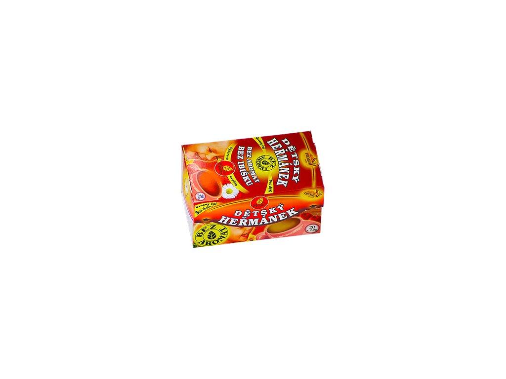 Mil - Dětský ovocný s heřmánkem 10x4g porc. 40g