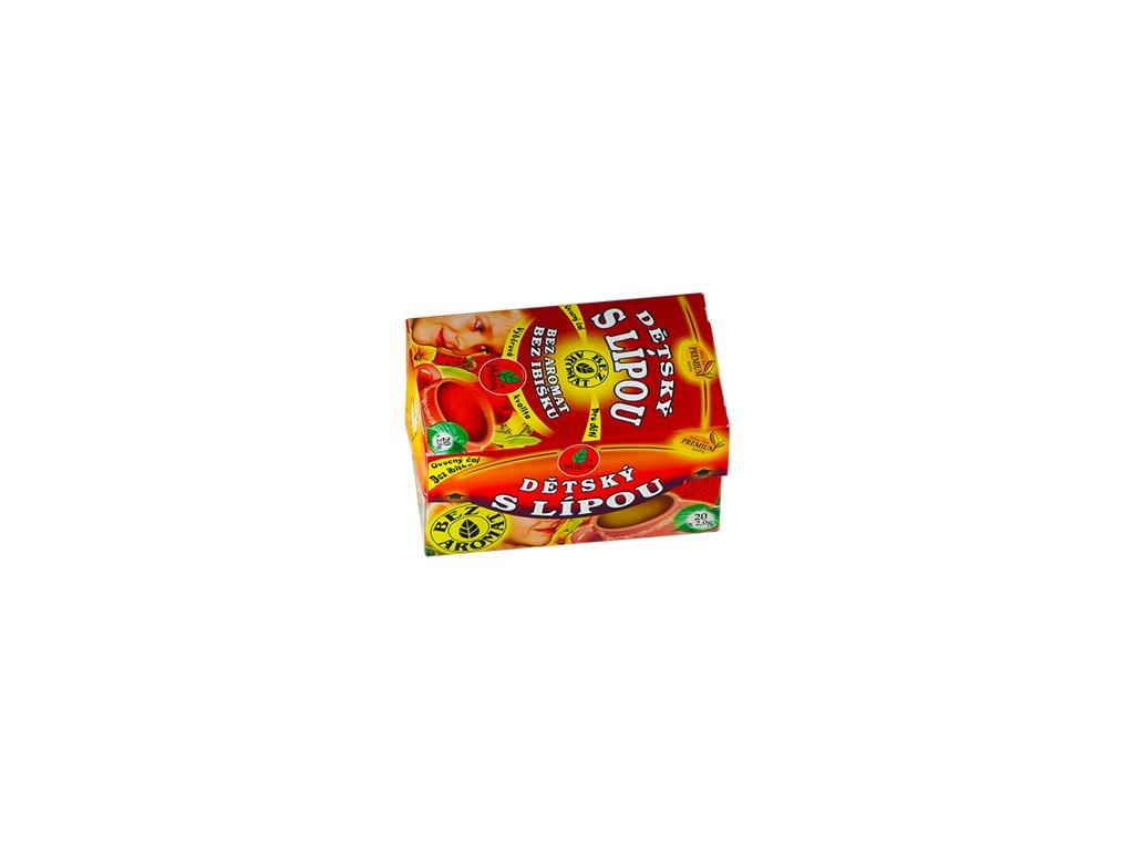Mil - Dětský ovocný s lípou 20x2g porcovaný