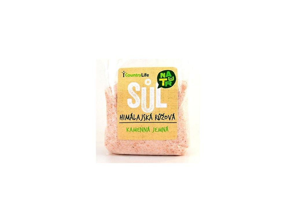 Sůl himalájská růžová jemná 500g CL