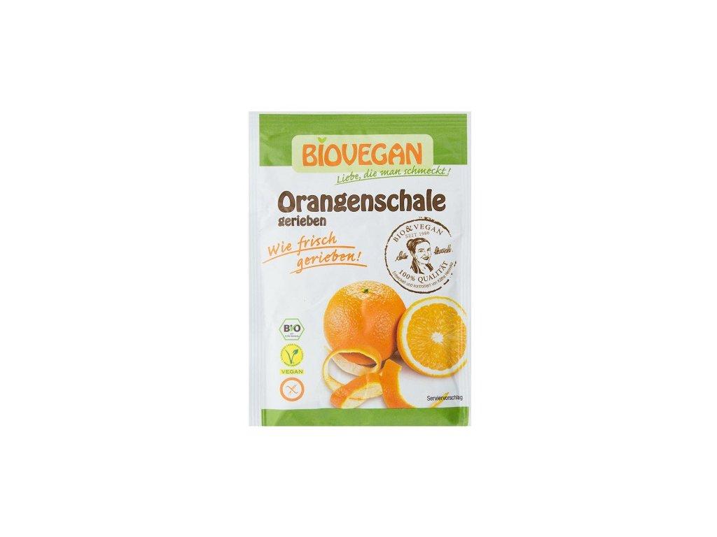 Pomerančová kůra sušená strouhaná BIO 9g