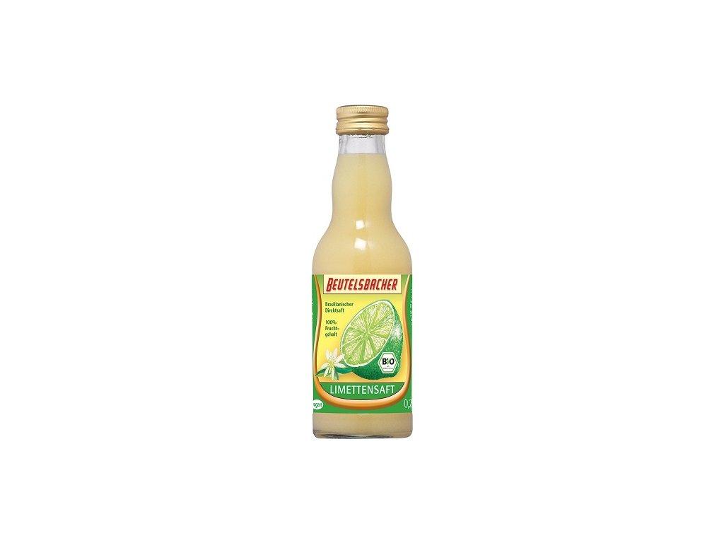 Limetková šťáva 100% 0,2l BioNebio