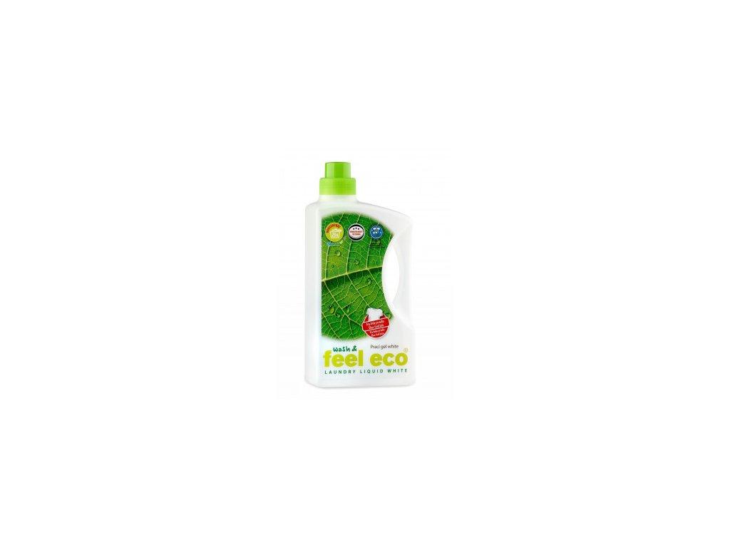 Feel Eco gel na bílé prádlo 1,5 l