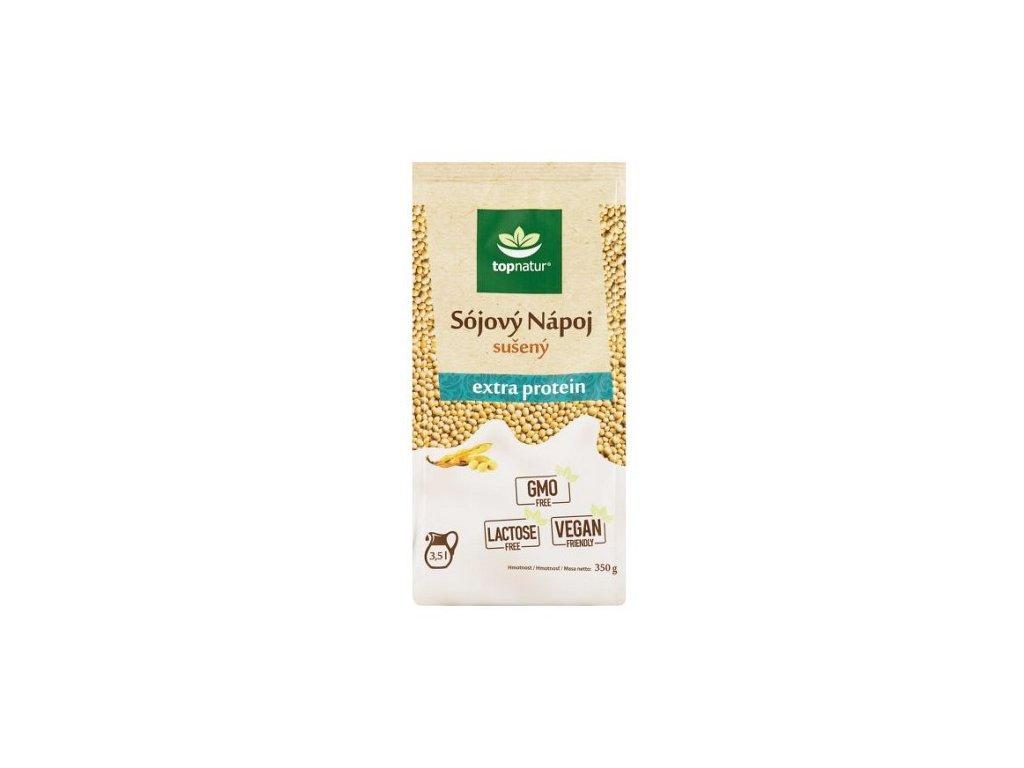 Nápoj sojový sušený  extra protein 350g Topnatur