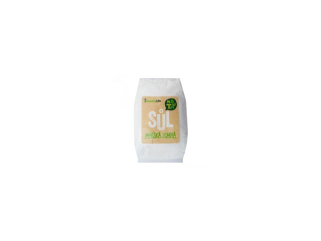 Sůl mořská jemná 1 kg CL