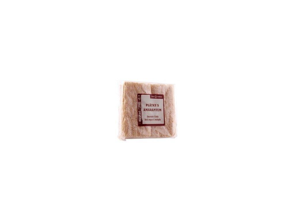 Křehké plátky amarantové 100g