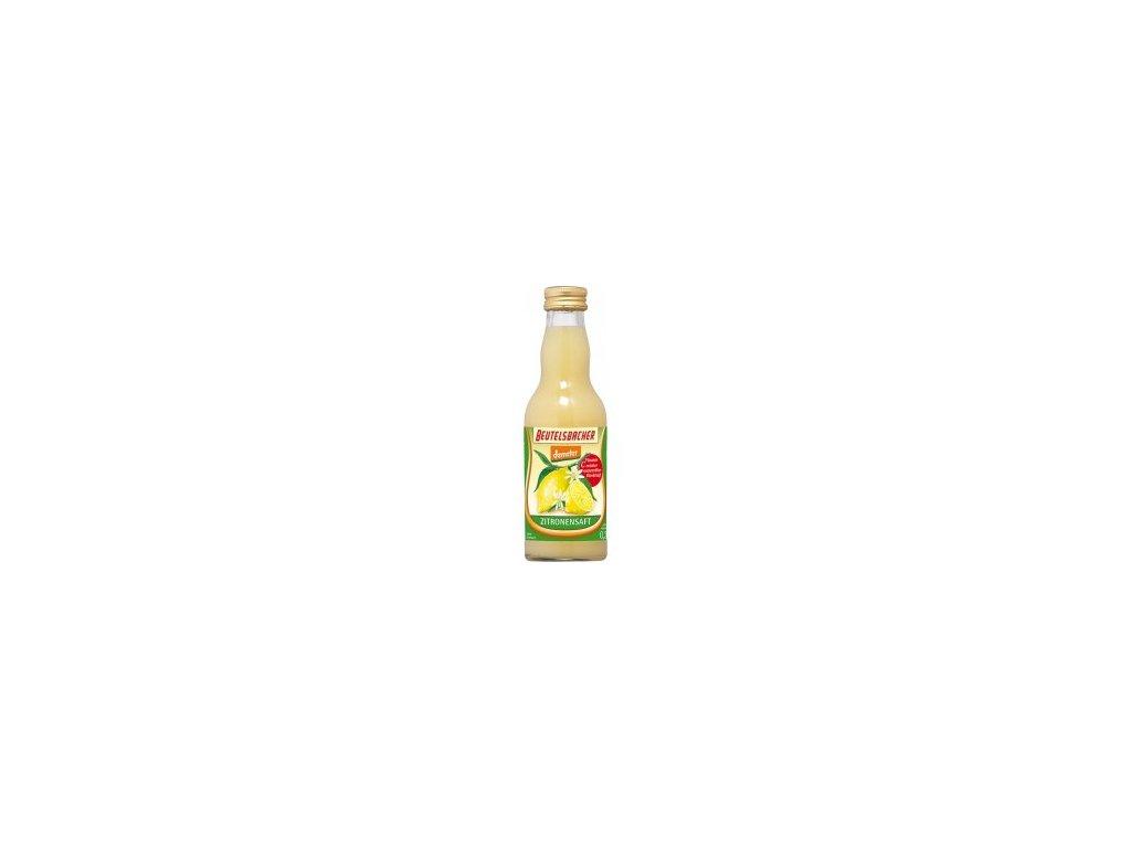 Citronová šťáva 100% BioNebio 0,2l