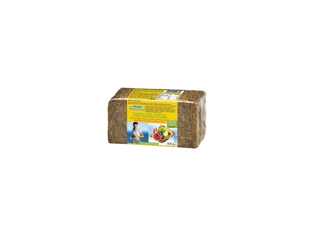FYT - Chléb pařený 4-zrnný 500g Nat.