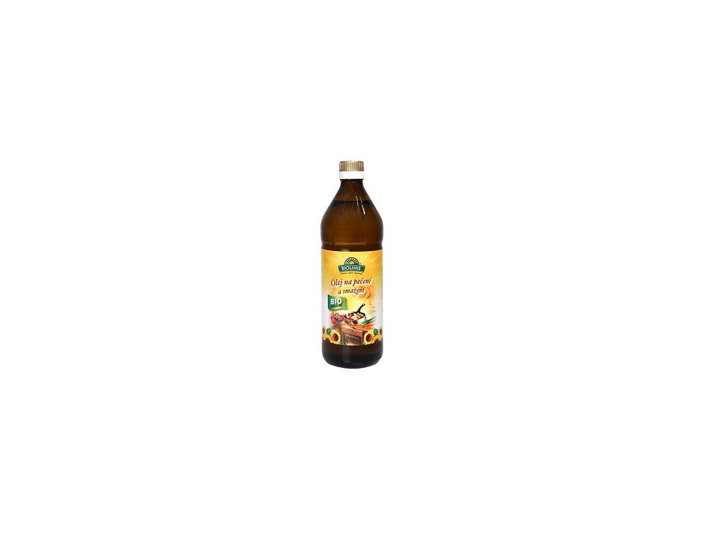Olej slunečnicový na pečení a smažení 0,75l PB