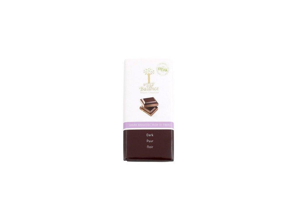 HL - Čokoláda Balance stevia hořká 85g
