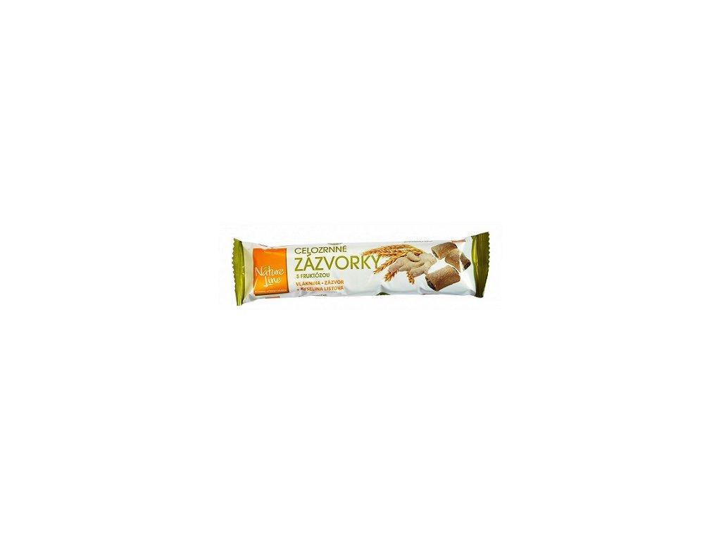 Sušenky NL se zázvorem celozrnné 65g