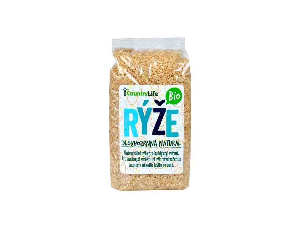Rýže dlouhozrnná natural 500g BIO