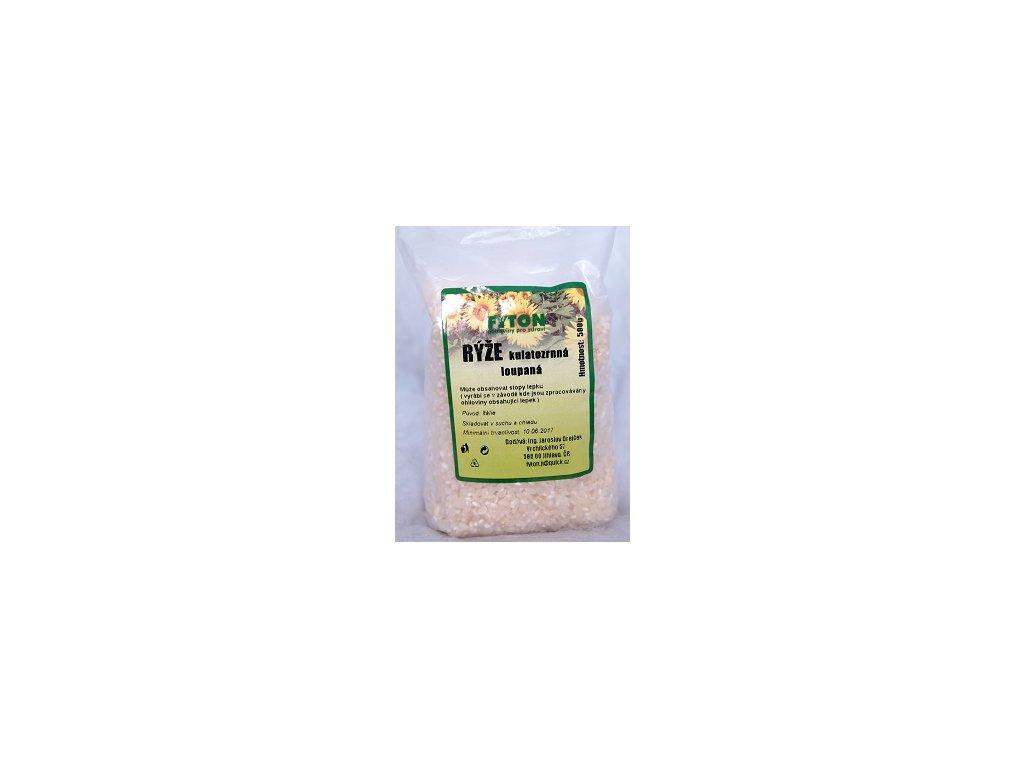 Rýže kulatozrnná loupaná 500g