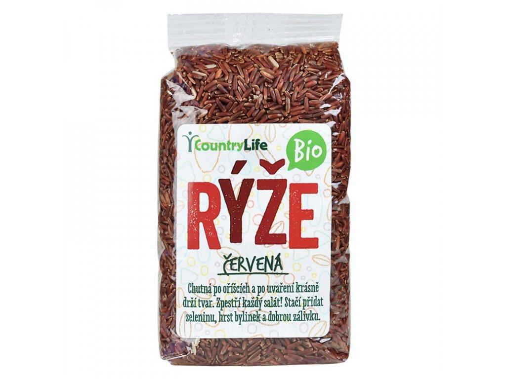 Rýže červená 500g BIO
