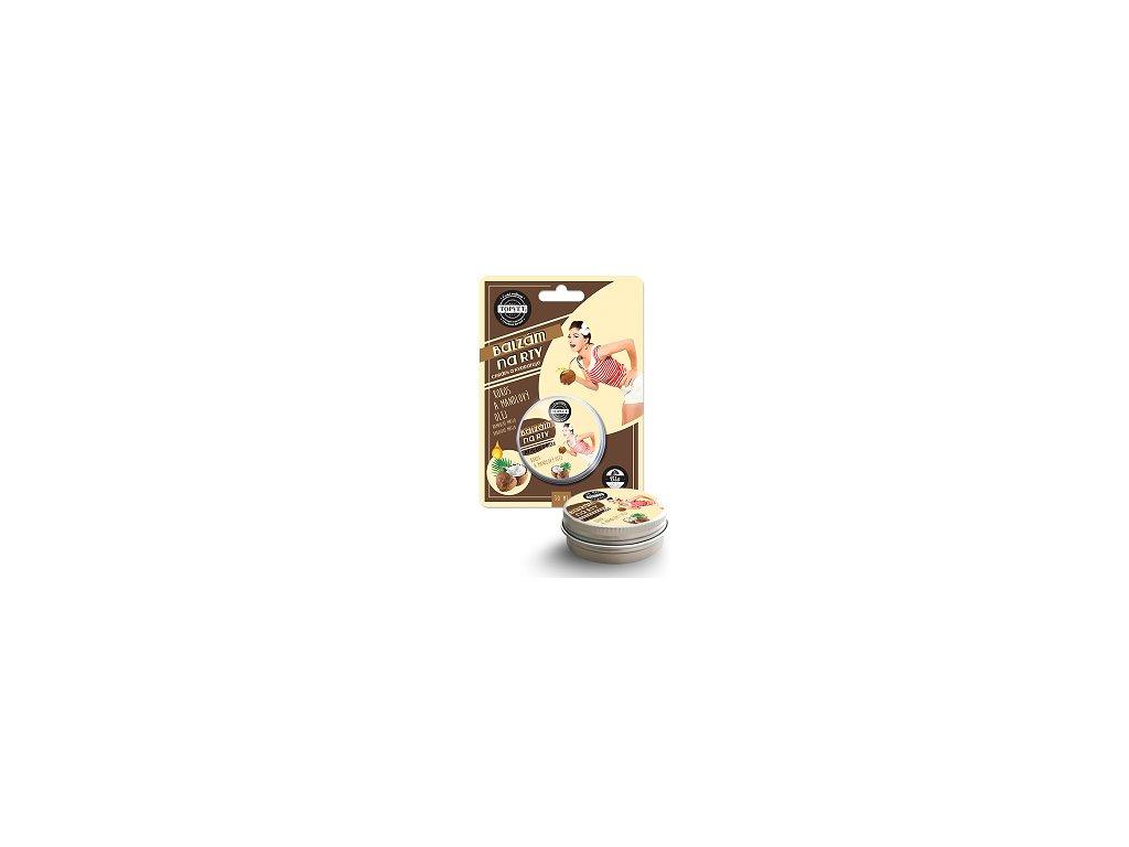 Top - Balzám na rty kokos a mandlový olej 15ml