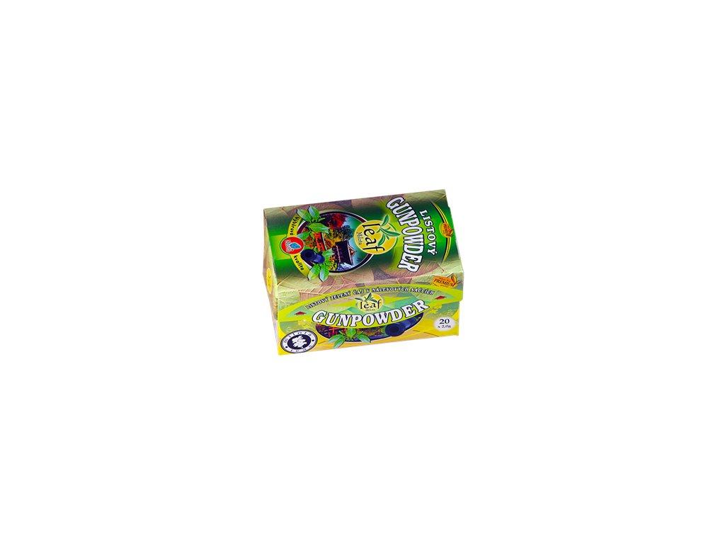 Mil - Zelený čaj Gunpowder 40g porcovaný
