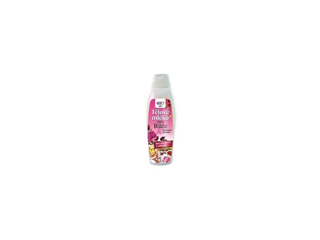 Běl - Tělové mléko růže 500ml