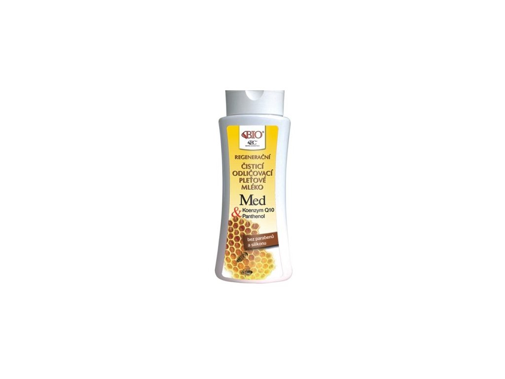 Běl - Med+Q10 mléko pleťové čistící  255ml