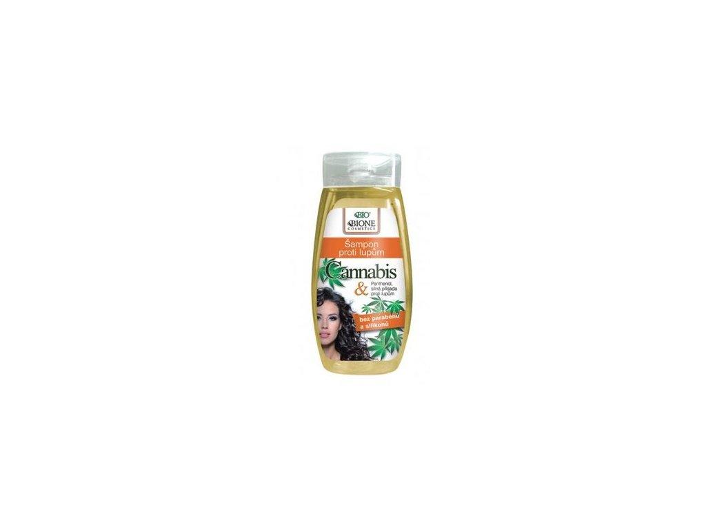 Běl - Cannabis šampon proti lupům ženy BIO 260ml