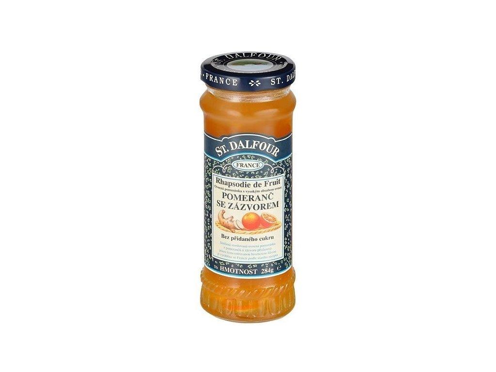 Džem Dalfour pomeranč zázvor 284g