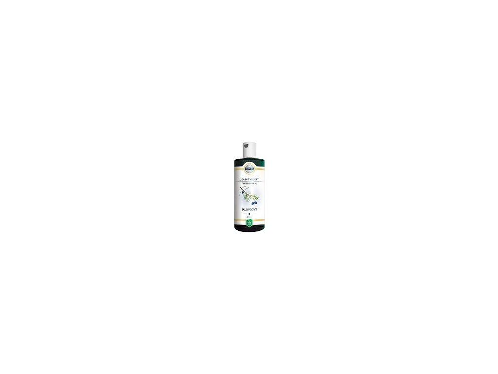 Top - Bílá - masážní olej jalovec 200ml