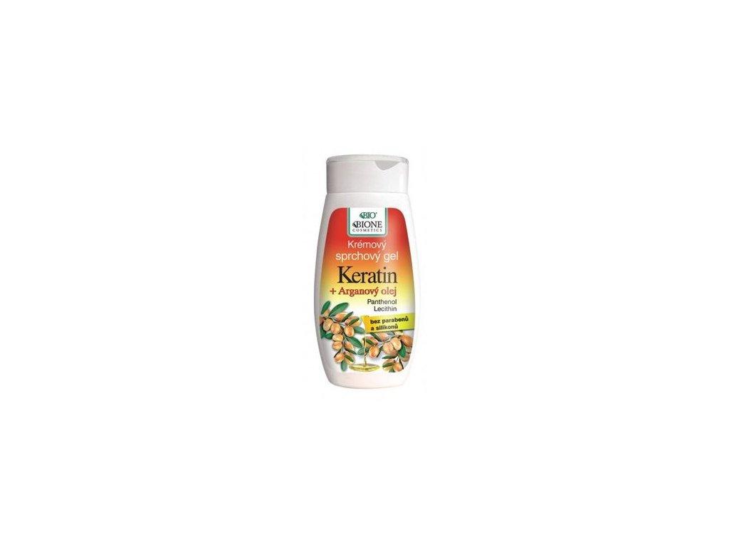 Běl - Arganový olej + karité sprchový gel 260ml