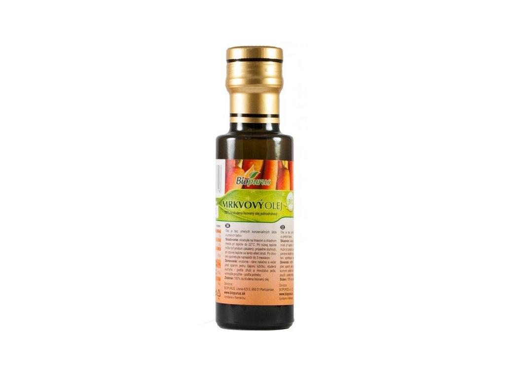 Olej mrkvový BIO 100ml